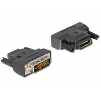 Adapteris DVI 25 M -> HDMI F Delock