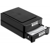 Delock 2 x Storage Boxes for 3.5 HDDs stackable