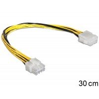 Delock Cable Power 8 pin EPS Extension male > female