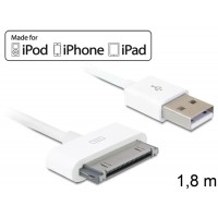 3G USB data- and power (iphone, ipad) kabelis Delock