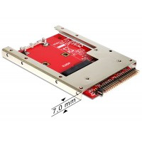 Converter IDE 44 Pin > mSATA with 2.5″ Frame (7 mm) Delock