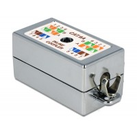 Delock Junction Box for network cable Cat.6A LSA toolless