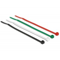 Delock Cable ties coloured L 100 x W 2.5 mm 200 pieces
