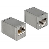 Delock Adapter RJ45 female / female Cat.6 compact