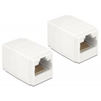 Delock Adapter RJ45 female / female Cat.6 compact UTP