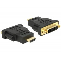 Delock Adapter HDMI male > DVI 24+5 pin female