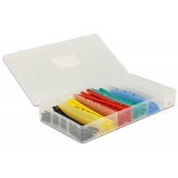 Delock Heat shrink tube box 100 pieces assorted colours