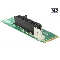 Delock Adapter M.2 NGFF Key M male > PCI Express x4 Slot