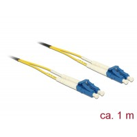 Delock Cable Optical Fibre LC > LC Singlemode OS2 1 m