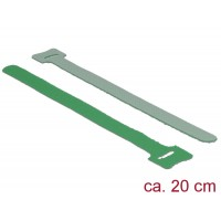 Delock Hook-and-loop fasteners L 200 mm x W 12 mm 10 pieces green