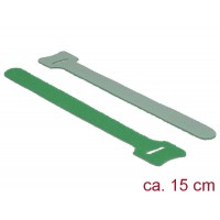 Delock Hook-and-loop fasteners L 150 mm x W 12 mm 10 pieces green