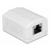 Delock Network Wall Outlet 1 Port Cat.6A LSA