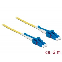 Delock Cable Optical Fibre LC > LC Singlemode OS2 Uniboot 2 m