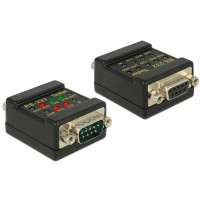 Delock RS-232 Tester DB9 female > DB9 male