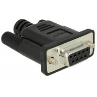 Delock Adapter RS-232 DB9 female Loopback