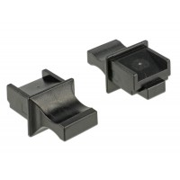 Delock Dust Cover for RJ45 jack with grip 10 pieces black