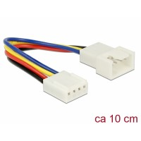 Delock Extension Cable PWM Fan Connection 4 Pin 10 cm