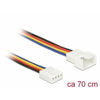 Delock Extension Cable PWM Fan Connection 4 Pin 70 cm