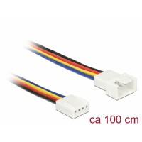 Delock Extension Cable PWM Fan Connection 4 Pin 100 cm